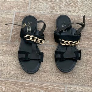 top shop chunky sandals